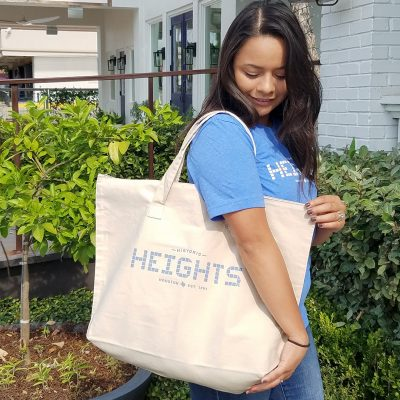 Houston Heights large tote