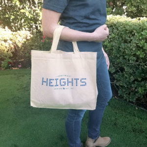 Canvas Tote Heights Tile