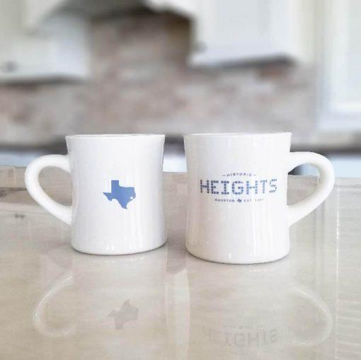 Houston Heights Tile - Texas Classic Diner Mug