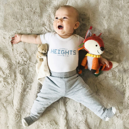 Heights Baby Onesie - Blue