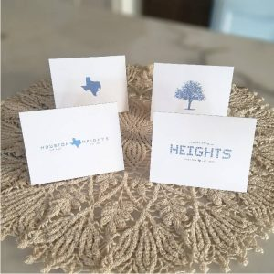 Note Cards - Heights Design Collection