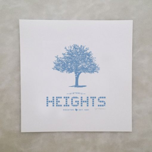 Heights Tile & Tree print