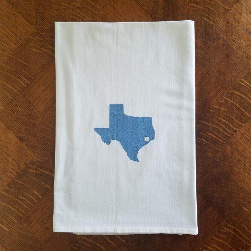 Texas Tile Flour Sack Kitchen Towel