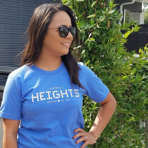 Heights T-shirt Columbia Blue