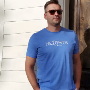 Heights T-shirt Columbia Blue unisex