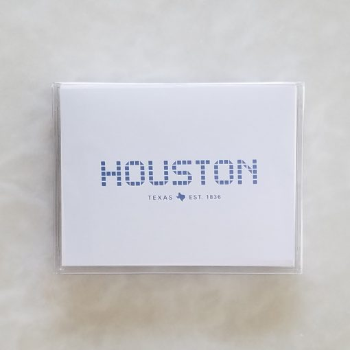 Note Card - Houston Tile & Texas Tile box