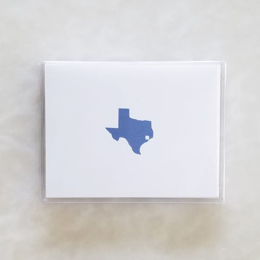 Note Cards - Texas Tile box