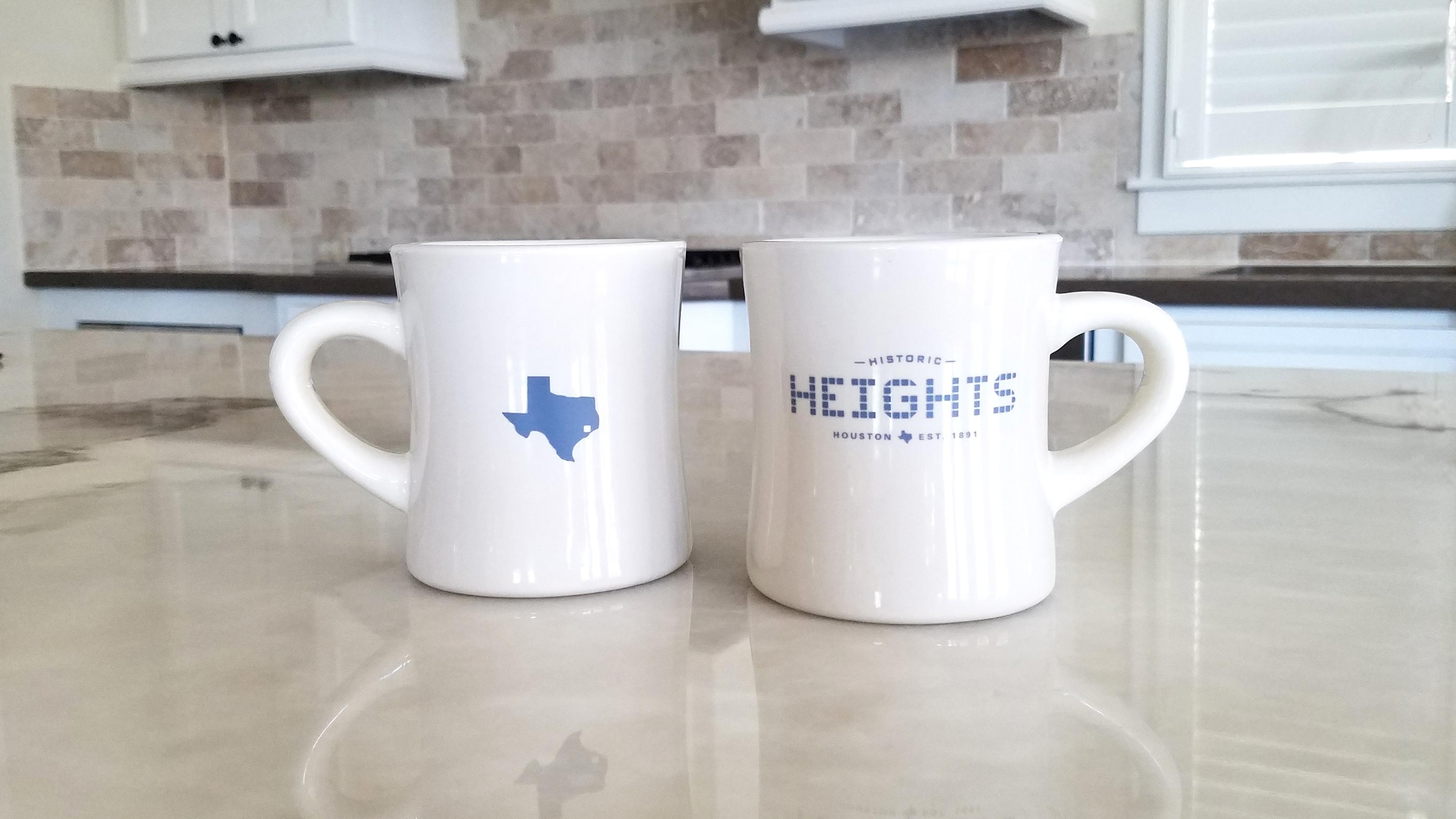 Heights Tile and Texas Tile Diner Mug