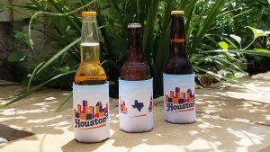 Houston Skyline Patchwork hugger