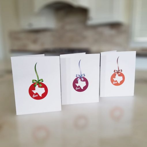 Note Cards - Texas Holiday Love