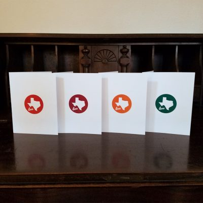 Note Cards - Texas Love