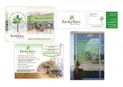 "Logo | Window Sign | Brochure Card, 5"" x 7"" 