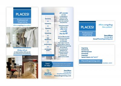 "Brochure Rack Card, 4"" x 9"" 