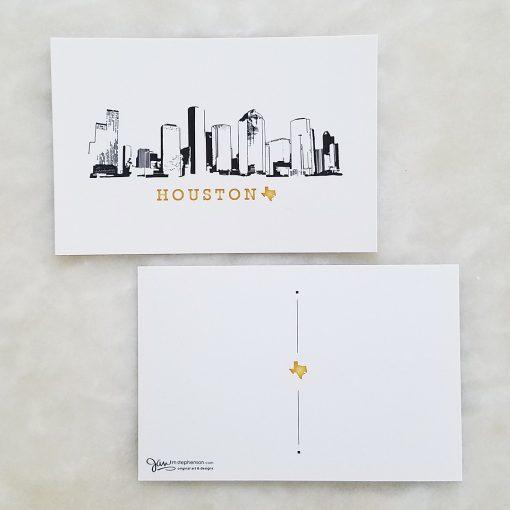 Postcard - Houston Skyline