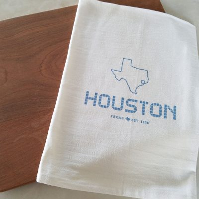 Houston Tile Kitchen Towel