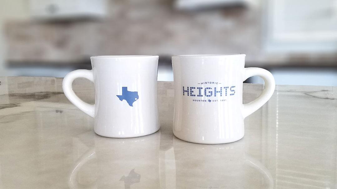 Heights Tile & Texas Tile Diner Mug