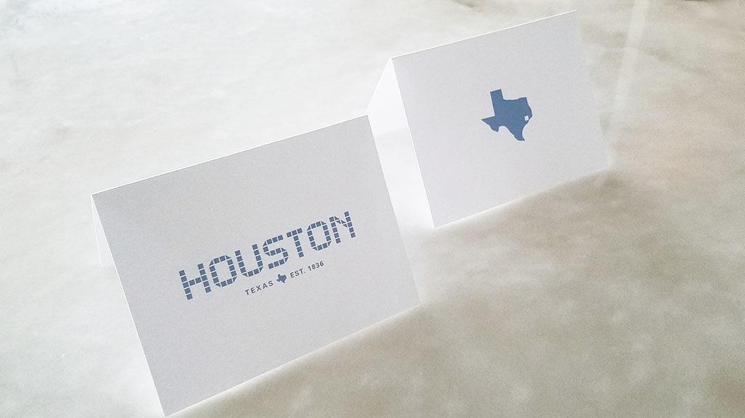 Note Cards, Houston Tile & Texas Tile