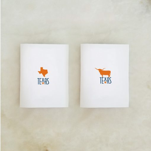 Texas, Longhorn Orange Note Card